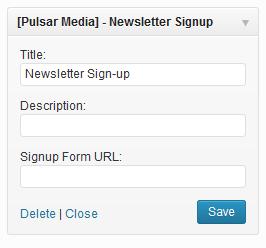 newsletter-widget